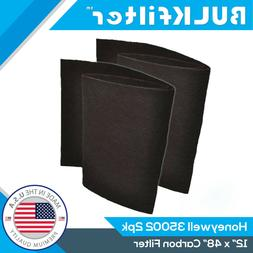 "1|2|4 Pack HEPA Carbon Pre-Filter for Honeywell 35002 12"" x"