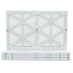 """1"""" Inch Depth Glasfloss ZL MERV 10 Pleated Air Filters. 4 Pa"""