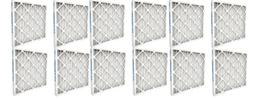 Air Handler 12 Pack 22x22x1 Synthetic Pleated Air Filter wit