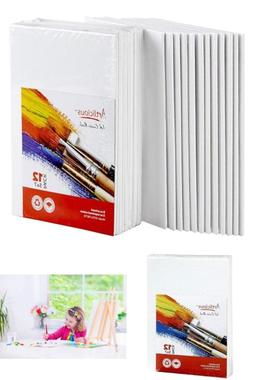 "12-Pack Canvas Panels 5""X7"" Super Value Artist Canvas Panel"