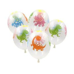12 Pack Cute Dinosaur Balloons Kids Birthday Party Decor T-r
