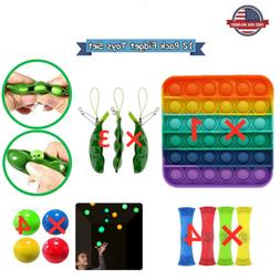 12 Pack Fidget Sensory Toys Set For Stress Relief Anti-Anxie