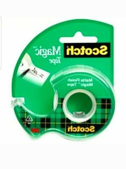 12 PACK Scotch Magic Tape 1/2 Inch X 800 Inches
