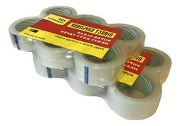 12 Pack Moving & Amp Clear Packing Tape Heavy Duty Shipping