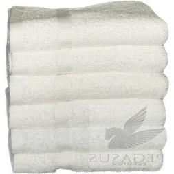12 pack white premium cotton hotel hand towel plush 16x30 4.