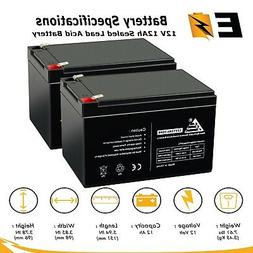 12V 12Ah Battery for PRIDE GO-GO LX Scooter Chair CTS S54LX