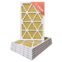 12x24x1 MERV 11 Pleated AC Furnace Air Filters.  12 Pack