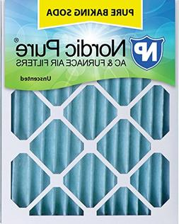 """Nordic Pure 12x24x2PBS-3 Pure Baking Soda Air Filters , 12"""""""