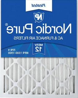 Nordic Pure 24x30x2 Pleated MERV 12 Air Filters 3 Pack