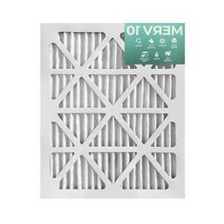15x20x1 MERV 10 Pleated Air Filters. 12 PACK. Actual Size: 1
