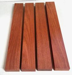 """2 or 4 Pack 3/4"""" x 2"""" x 12"""" or 16"""" BLOODWOOD Lumber KD"""
