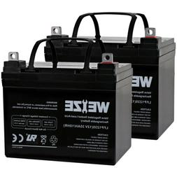 2 Pack Weize 12V 35AH U1 AGM SLA Battery For Craftsman 25780