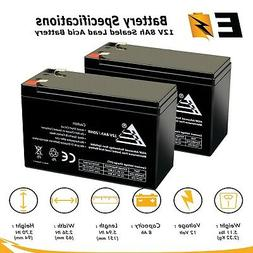 2 Pack | 12V 8Ah Battery Replacement for APC Smart UPS 1000V