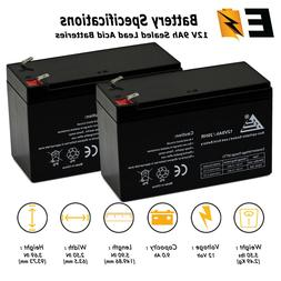 ExpertBattery 2 Pack - 12V 9AH SLA Battery replaces hr-1234w