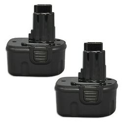 2 PACK 12V XRP BATTERY FOR DEWALT DC9071 DW9071 DW9072 DE907