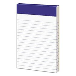 "Ampad 20-208 Evidence 3"" x 5"" Narrow Perforated Writing Pads"