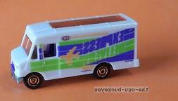 2012 Matchbox Loose Express Delivery World Wide 7 Days White