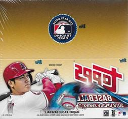 2018 Topps Update Series Baseball Unopened Factory Sealed Re