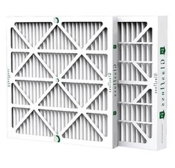 """4"""" Inch Glasfloss ZL MERV 10 Pleated Air Filters.  2 Pack."""