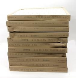 20X20x2 Glasfloss PTA Disposable Furnace Filters - 11 PACK -