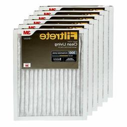 Filtrete 20x25x1, AC Furnace Air Filter, MPR 300, Clean Livi