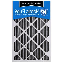 Nordic Pure 22x36x1 MERV 12 Pleated AC Furnace Air Filters 3 Pack