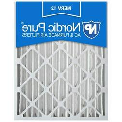 20x25x4 Air Filter Furnace Merv 12 Bulk Pack Nordic Pure 11