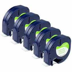 2Pack 91330 Replace DYMO LetraTag Labeling Refills Self-Adhe