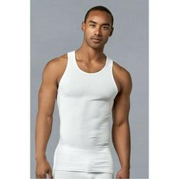 3-6-12 Pack Athletic Men's A-Shirt Tank Tops 100% Cotton