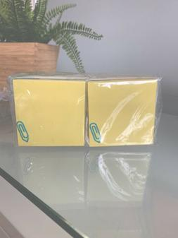 "3"" X 3"" Yellow Sticky Notes (Available in a pack of 12"