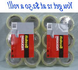 3M Packing Tape $3.00 a roll.  Scotch 12 Pack of Tape 1.88-i