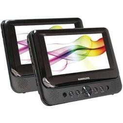 """Sylvania 7 Dual-Screen Portable Dvd Player """"Product Category"""
