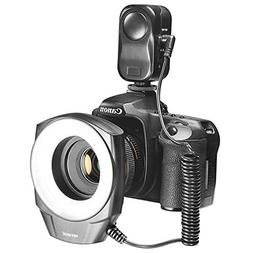 Neewer 48 Marco LED Ring Light with 6 Adapter Rings  for Mac