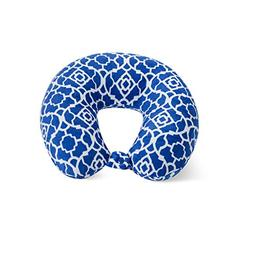 World's Best Feather Soft Microfiber Neck Pillow, Cobalt Blu
