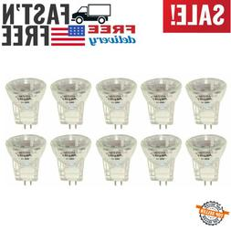 Anyray A2016Y 10-Pack 20-Watts MR8 +C 12V 20W Halogen Light