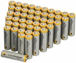 AmazonBasics AA Performance Alkaline Batteries, 48 Count