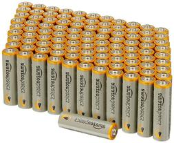 AmazonBasics AA Performance Alkaline Batteries pack 100