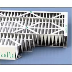 20x25x4 Air Filter MERV 10 Pleated by Glasfloss - Box of 6 -