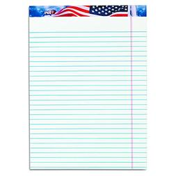 TOPS American Pride 100% Recycled Writing Tablet, 8-1/2 x 11