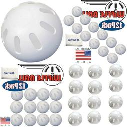 Wiffle Ball Baseballs Official Size  With Bonus Nois Tissue