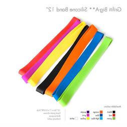 Grifiti Band Joes 12 Inch 2 Pack Tough Silicone Replace Rubb