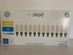 GE Basic 12-Pack 60 W Equivalent Dimmable Warm White Ca10 LE