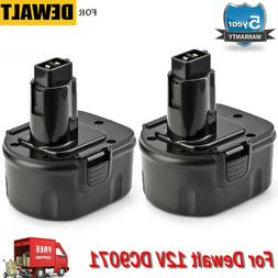 2 PACK NEW 12V 12 VOLT BATTERY FOR DEWALT DC9071 DW9071 DW90