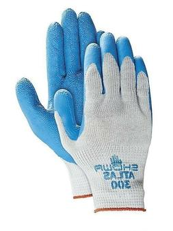 Showa Best Atlas 300 Rubber Dipped Work Gloves, Various Quan