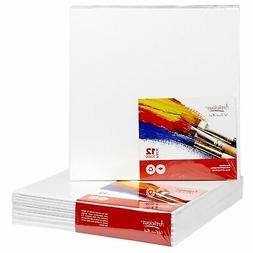 "CANVAS PANELS 12 PACK - 10""X10"" SUPER VALUE PACK Artist Canv"