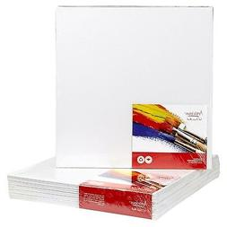 "CANVAS PANELS 12 PACK - 8""X8"" SUPER VALUE PACK Artist Canvas"
