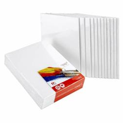 Artlicious Canvas Panels 12 Pack Set Bulk Of Boards For Pain