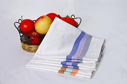 Folks Classic Kitchen DISH TOWELS With Hanging Loop - Matchl