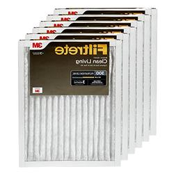 Filtrete 12x24x1, AC Furnace Air Filter, MPR 300, Clean Livi