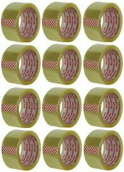 """CLEAR PACKING TAPE 2""""X55 YDS"""